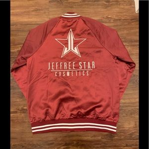 Jeffree Star Jackets & Coats - ✨🖤 Jeffree Star Unicorn Blood Varsity Jacket 🖤✨